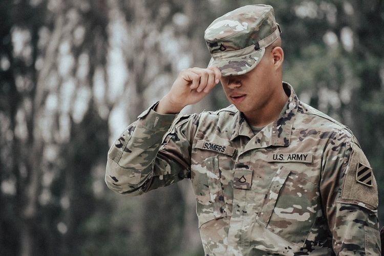 So handsome. Husband Military Uniform Army Military Army Soldier Armed Forces Patriotism Camouflage Clothing Uniform Young Adult Army Helmet One Person Men War Saluting Focus On Foreground Only Men Outdoors One Man Only This Is Masculinity