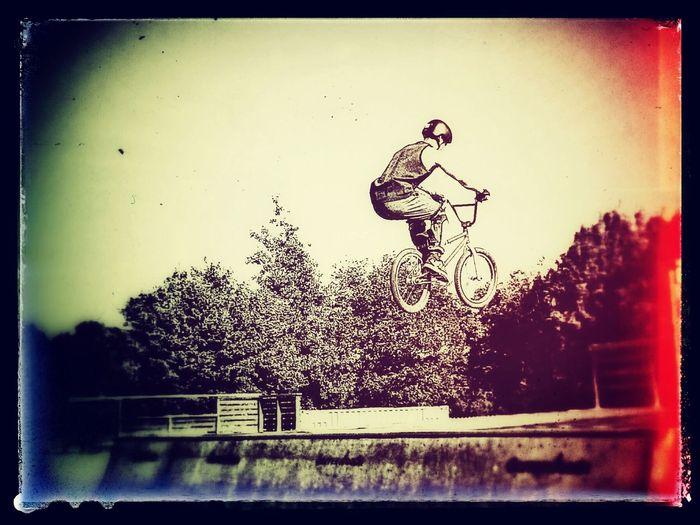 Extreme Kickflip Summer, Chilling, Enjoying The Sun Tricks Bmxstyle BMX ❤ Funtimes bike, rude, jump, aimhigh, Enjoying Life