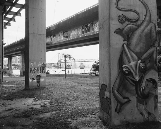 The Great Outdoors - 2015 EyeEm Awards Bridge Streetphotography Streetart