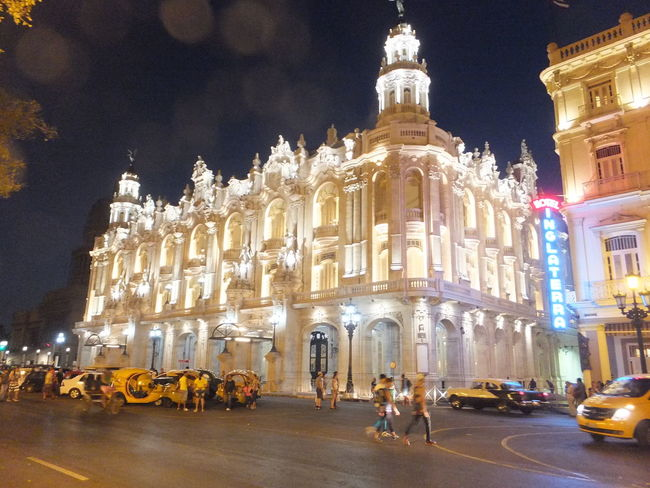 Grand Theatre Alicia Alonzo, Havana Colour Your Horizn Composition Cuba Havana Night Photography Tourist Attraction  Architecture Building Exterior Built Structure City Dome Famous Place Full Frame History Illuminated Incidental People Music Festival Night Outdoor Photography Performance Street Scene Theatre Theatre Arts Tourism Travel Destination