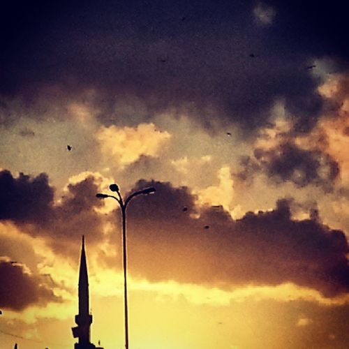 Instacollege Instamood Bulutlar Yolmanzaralari doga istanbul cami TürkBayrağı