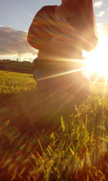 Sunsx Taking Photos No Fliter  Sunrays IrenesPics