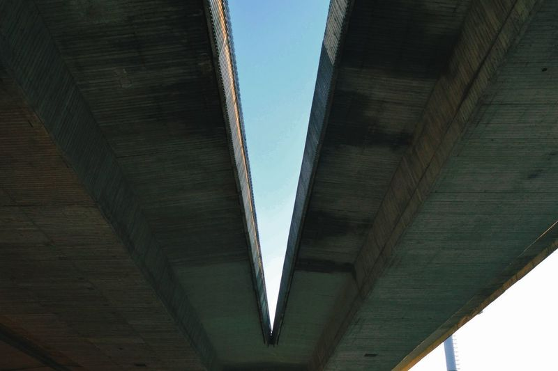Concrete Concrete Jungle Concrete Wall Urban Urban Photography City Bridge - Man Made Structure Architecture Sky Built Structure Underneath Symmetry Under Below Architectural Column Architectural Detail My Best Photo 17.62°