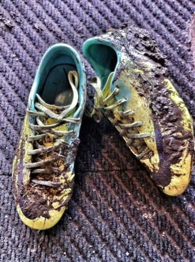 Boot Close Up Close-up Directly Above Dirty High Angle View Muddy Music Shoe The Color Of Sport Trainers Sneekers