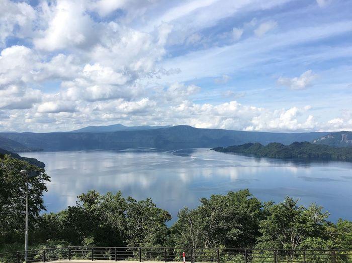 Lake Lake View Towada  Aomori Japan