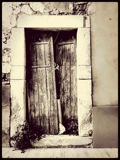 Door Door Old Door Its A Door, But...whats Behind It?? Old
