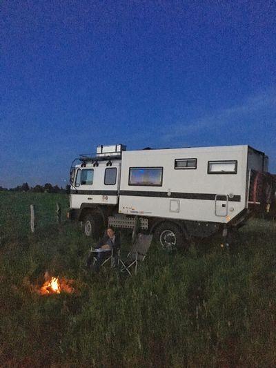 Goodnight Campfire Kids Camper