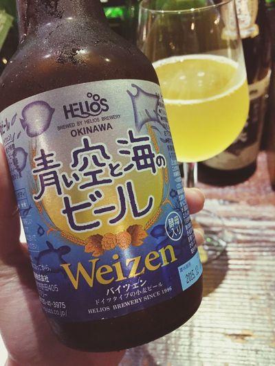 Okinawa Beer Helios Banana 青 空 海 新啤酒好朋友!!!