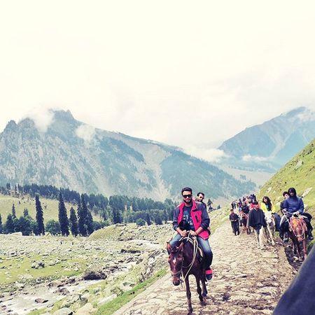 Horseriding Sonmarg Landscape Hdr_pics Friends Letsgo Thajiwasglacier Wonderfultime Instanature Kashmir