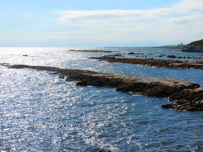 Seashore Pittenweem. Pittenweem Beauty In Nature Cloud - Sky Day Horizon Over Water Nature No People Outdoors Scenics Sea Sky Tranquil Scene Tranquility Water