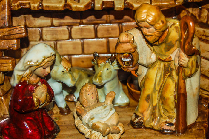 Weihnachtskrippe Privatbesitz Weihnachtskrippe No People Indoors  Sculpture Close-up Statue Christmas Crip Christmas Time Best Shots Hofi Hofis Premium Collection Strengberg
