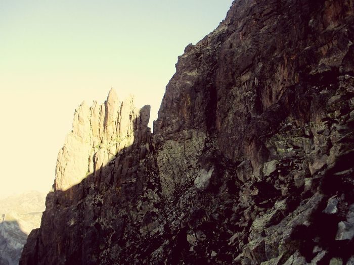 Rock - Object Rock Formation Mountain Nature Mountain Peak Beauty In Nature Rock Climbing Lifestyles First Eyeem Photo Mountaineering The Great Outdoors - 2017 EyeEm Awards The Best Way To Start The Day Good Energies
