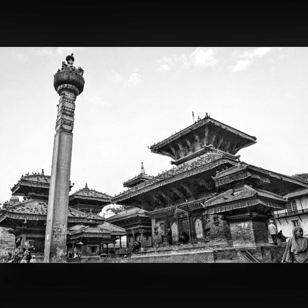 Outdoors Cultures Place Of Worship Architecture Religion Basantapur Nepal Statue Travel Destinations
