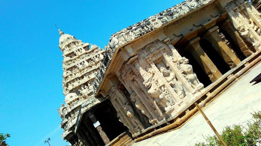 Capturing Photo @ Ekambarashewarar Temple Kanchipuram