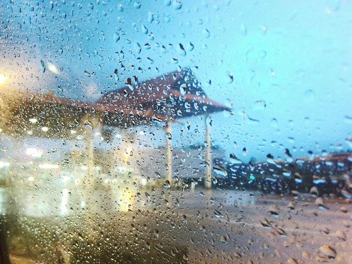 Night Lights Light Car Trissur Rain