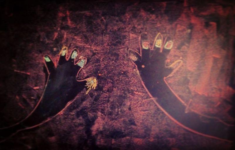 Las manos de Silvia