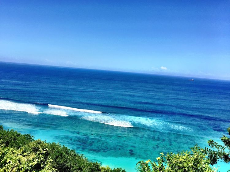 Water Sea Beauty In Nature Blue Scenics - Nature Sky Tranquil Scene No People Outdoors Idyllic Nature High Angle View Beach Horizon Land Horizon Over Water Turquoise Colored Tranquility Day Plant