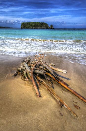 Cabarita Island Pagee Beach Port Maria, Jamaica Bamboo Beach Jamaica Nature No People Sand
