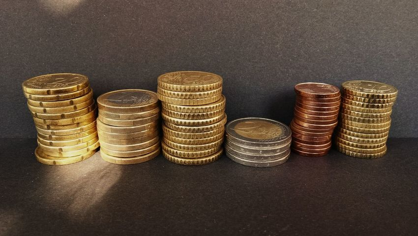 Basket Gold Colored Wealth Large Group Of Objects No People Indoors  Gold Coin Day Quality Money Europe Trip
