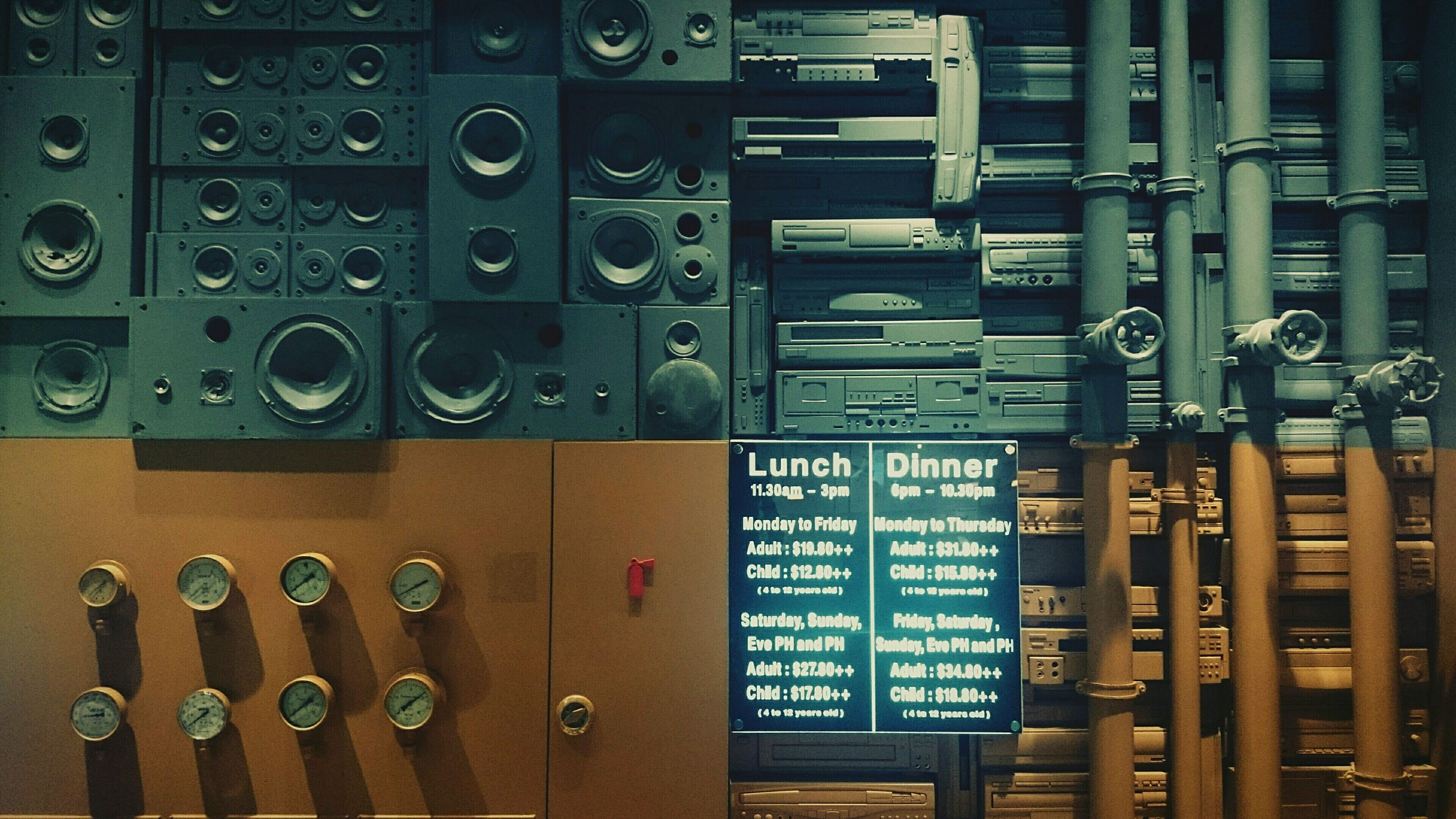 indoors, communication, technology, text, large group of objects, number, metal, close-up, control, western script, still life, in a row, abundance, variation, equipment, connection, full frame, order, control panel, old-fashioned