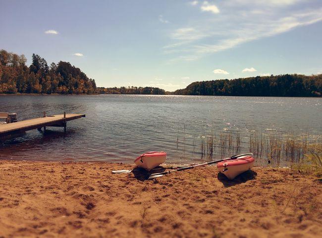 Kajak Lake Minnesota Nature No People Outdoors Sand Water First Eyeem Photo