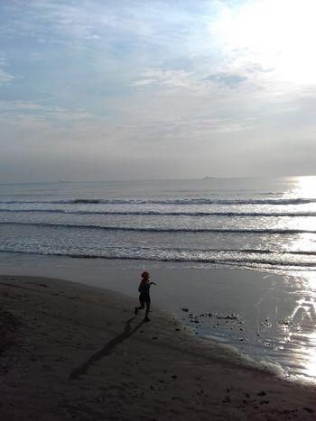 Good Morning Beach Sea Sun One Person Excercise Time Beautiful Day Beautiful Girl Photography Veracruz, México