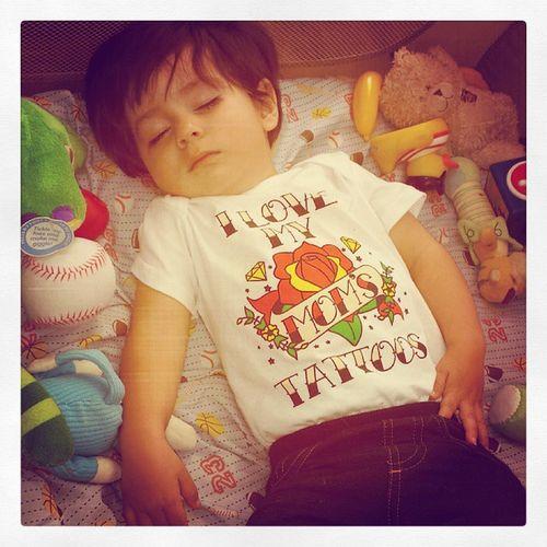 Momstattoos Sleepingbaby Instababy Tattoos Cutekidsclub Represnt Lovehim