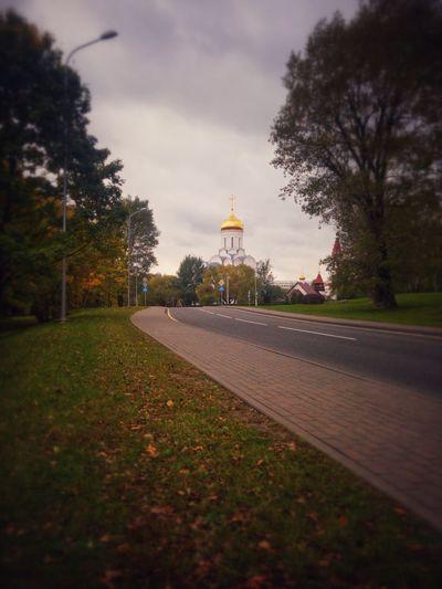 No People Cloud - Sky Tree Nature Autumn Outdoors Golden Autumn Minsk Belarus