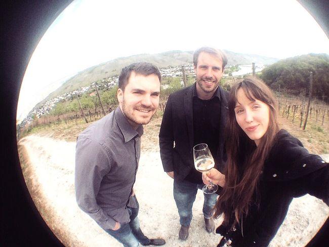 Mosel Valley Beine Vertreten Weinchen Einsistkeins Mit Der Familisch