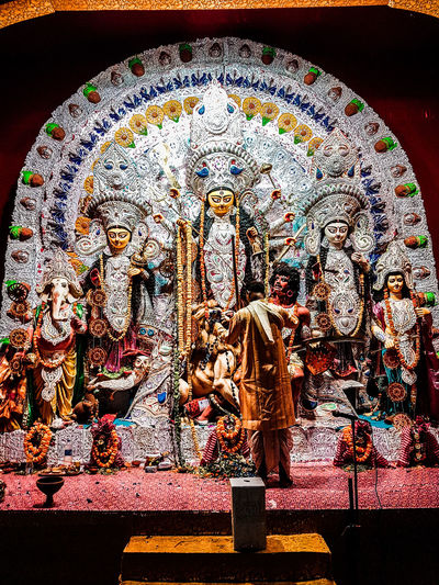 Durga Puja Celebration in Kolkata, India India Indian Indiapictures Indiaclicks Indianapolis  India_ig Kolkata Photography WestBengal Durga Pujo DurgaPujaDiaries Durga Puja 2017 Ashtami Saptami Sasti Festival Indian Culture  Pandal Pandalhopping Pandals People Life Indian Culture  Bengal EyeEmNewHere