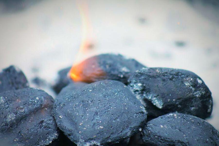 Hot Coals Burning Coals BBQ