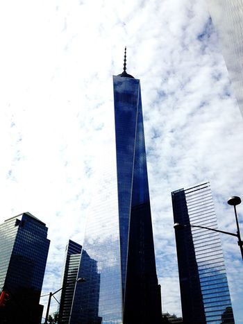World Trade Center , New York , Skyscrapers , High As Fuck Buildings , Newyorkcity NYC Photography NYC Cityneversleeps Newyork City NYC LIFE ♥ New York City The Best Of New York New York ❤ New York New York New York City Life IPhoneography IPhone 5S IPhone Photography Newyork Nycalive EyeEm In NYC 2015 I Heart New York One World Trade Center Eyeem New York City United States