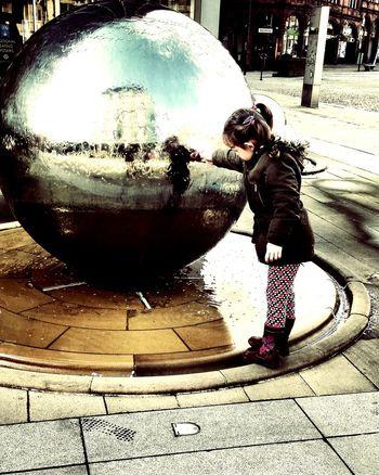 Aprilphotochallenge Sheffield Art Fountain Reflection Water Reflections Waterfeature April Showcase