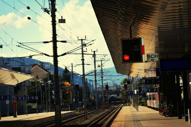 Trainstation Bahnhof Klagenfurt Am Wörthersee