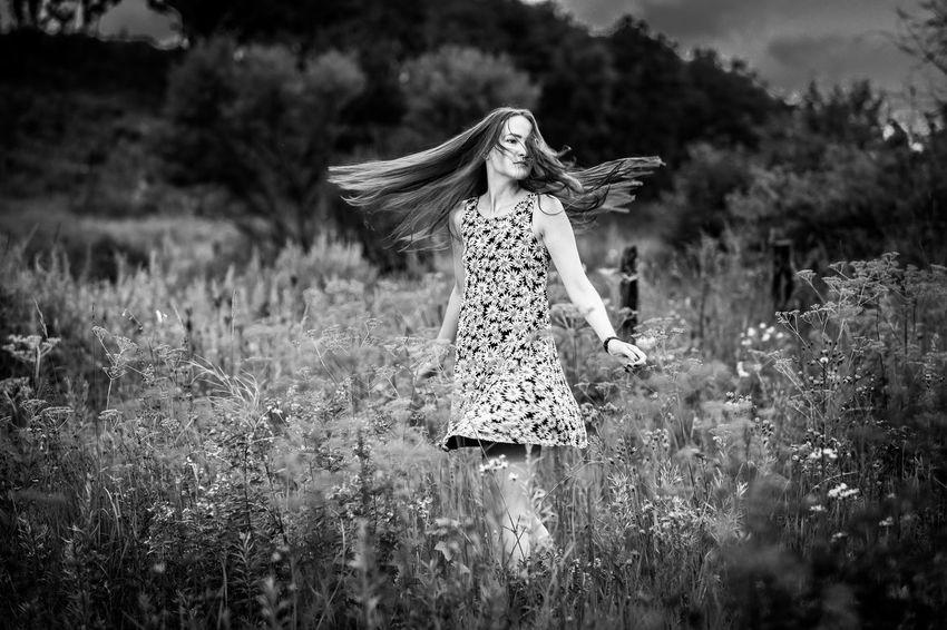 Gerl Russian Butiful Faces Of Summer Portrait EyeEm Best Shots Neture Happy