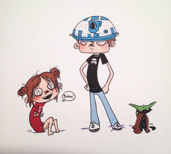 You can also find me on Twitter at www.twitter.com/frankendweeb, or on Tumblr at frankendweebisme.tumblr.com. Thanks! Star Wars Fanart Cartoon Doodle Anime Drawing Sketch Cute Art Markers