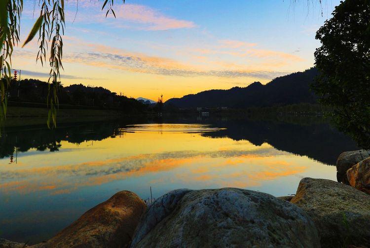 夕阳余晖 Water Sky