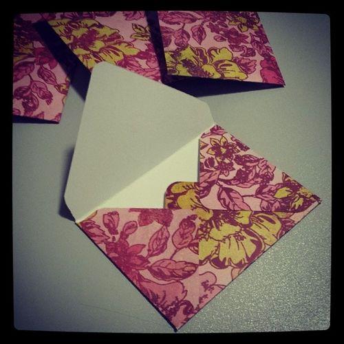 Ergebnis der Spielerei von Sonntagabend @stampinup @danipeuss Wermemorykeepers Umschlag Envelope Punchboard