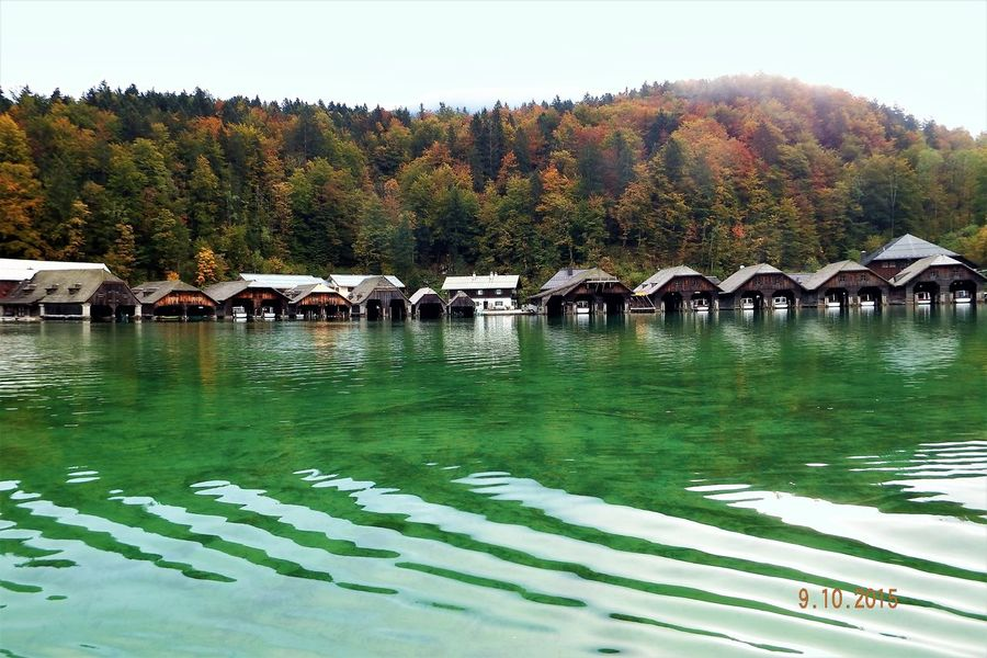 Water Tranquility No People Outdoors Lake Lake Königssee Emerald Water