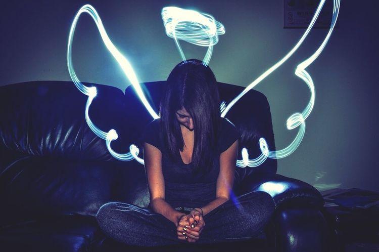 D'angel Angel Light Painting Slow Shutter Flash