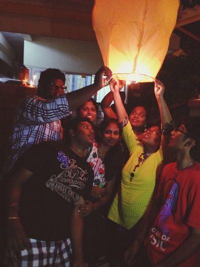 On A Break Family❤ Diwali2014 Taking Photos
