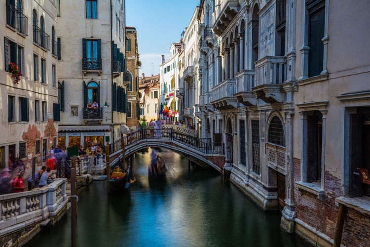 Venedig Venice, Italy Architecture Building Exterior Built Structure Canal City Day Gondola - Traditional Boat Outdoors Travel Destinations Water