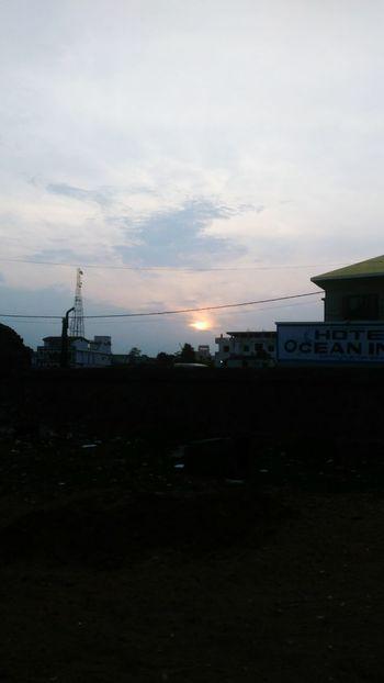 Sunset At Gopalpur Opposit To Sea