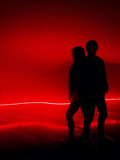 Collection Lambert Red People Red Light People Photography Peoplephotography Black And Red Twopeople People And Art People Watching Darkness And Light Darkness Photooftheday Red Color Color Photography Canonphotography Photographic Memory Avignon Museum Light And Shadow