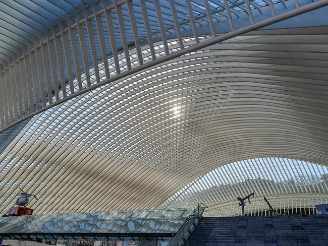 Architecture Built Structure Pattern Modern No People Day Indoors  Low Angle View