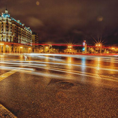 Baku nights. Night Night Lights Nightphotography Night View