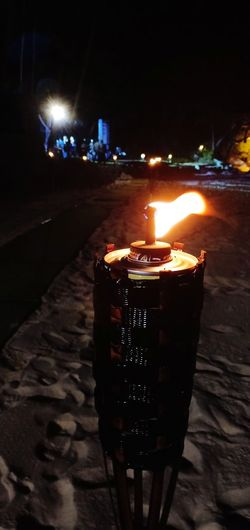 Burning the