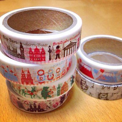 Seria Tape Stationary Maskingtape 100均 マスキングテープ マステ セリア テープ Onecoin 100円均一 Amifa