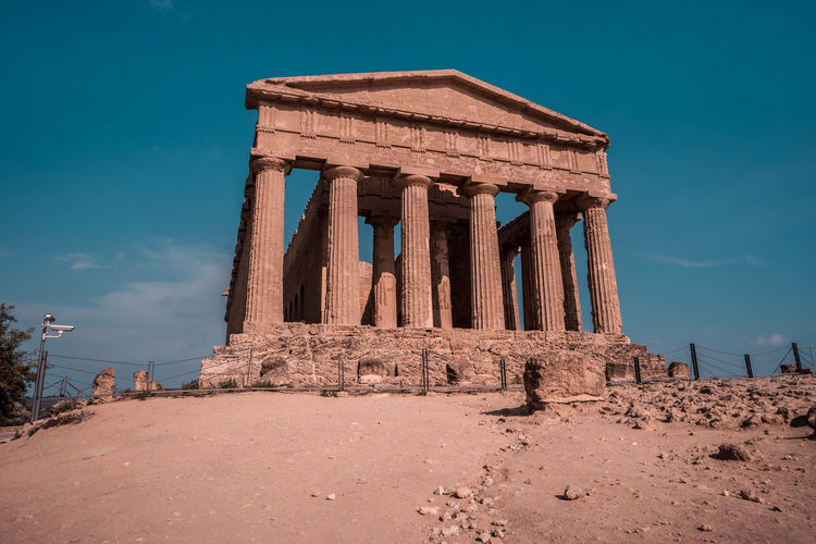 Ruins Greece Greek Sicily Italy Sicily, Italy Valley Of The Temples Agrigento