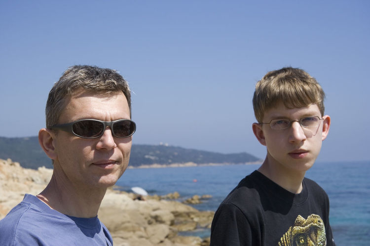 father and son - enjoying vacation Beach Boy Education Father Father & Son Father And Son Father's Day Head And Shoulders Headshot Learning Looking At Camera Man Mature Man Only Men Outdoors Portrait Sea Son Summer Sunglasses Teen Teenage Boy Togetherness Two People Vacations